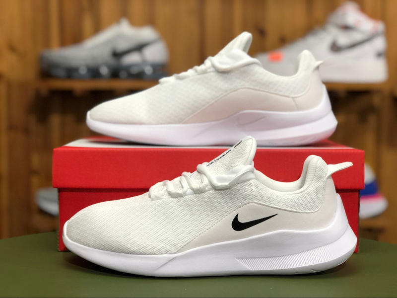 68a9b3b594519 Nike Viale NSW White Black AA2181 100 Women s Men s Running Shoes ...