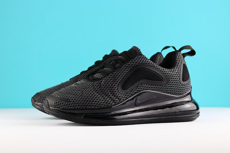 sale retailer 02ecf b768d Nike Air Max 720 Carbone Grey Black AO2924 002 Men s Casual Shoes