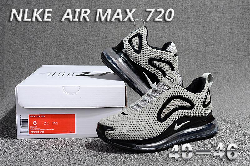 brand new b3e4e 943dd Nike Air Max 720 KPU Wolf Grey Black 849558 013 Men s ...