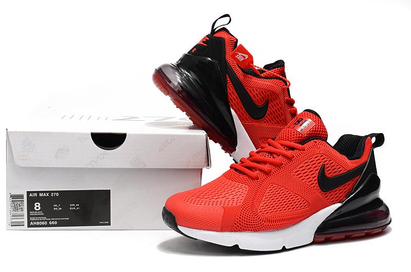 competitive price 3f5de 0c203 Nike Air Max 180 270 KPU University Red White Black AH8060 660 Men's ...