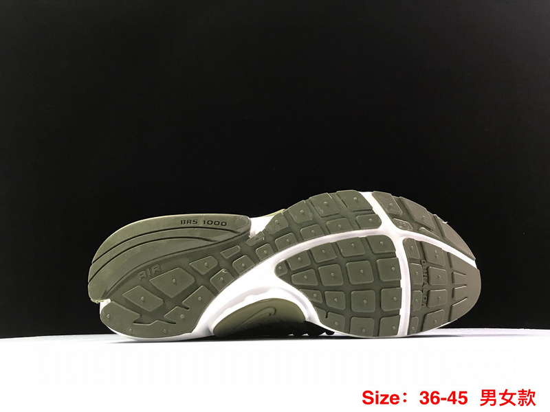 hot sale online 21679 c26fa Nike Air Presto TP QS Olive Green White Men s Running Shoes