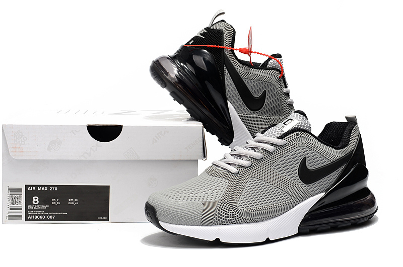 newest 300c3 2eee3 Nike Air Max 180 270 KPU Wolf Grey White Black AH8060 007 Men's ...