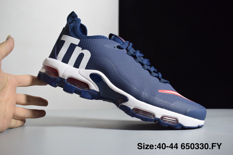f96cded2d Nike Mercurial Air Max Plus Tn SE Navy Blue Red White Men s Running ...