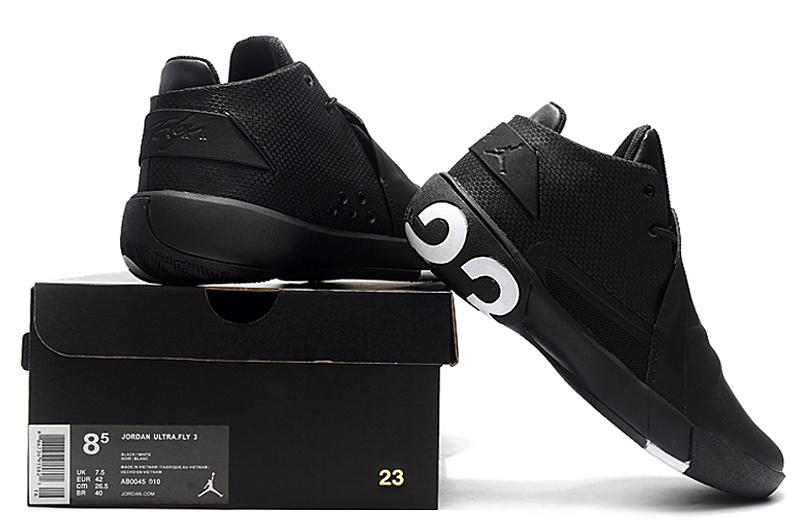 85c9f97e7 Air Jordan Ultra Fly 3 Black White Men s Basketball Shoes NIKE ...