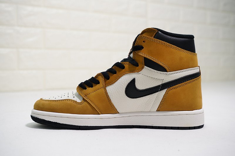 huge selection of 096f0 a37b6 Jordan 1 Grade School Air Jordan 1 Mid Retro High OG Rookie of the Year  555088-700 Mens Athletic Basketball Shoes 555088-700