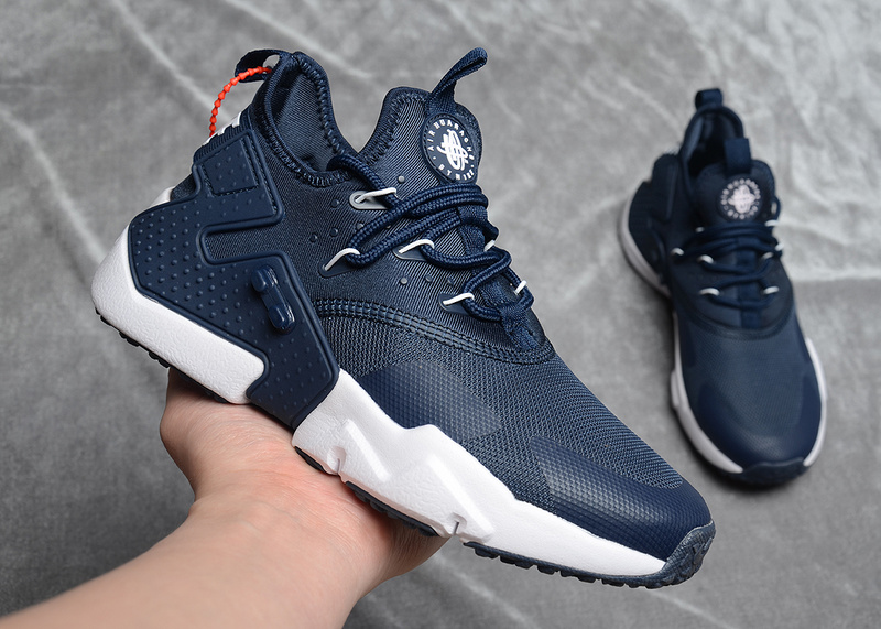 bcaea38b7ccf93 Nike Air Huarache Drift Premium Navy Blue White Women s Men s ...