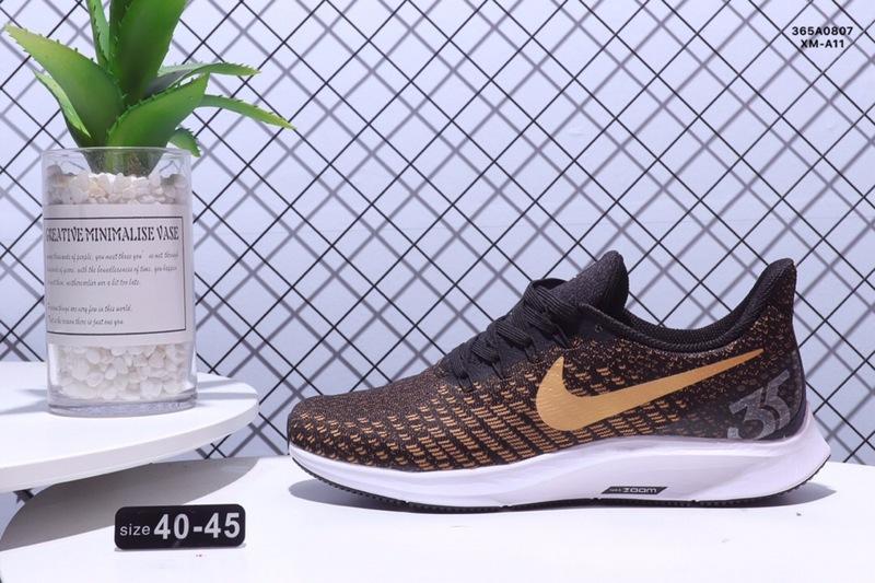 designer fashion 121a8 62a35 Nike Air zoom Pegasus 35 Shield Brown Gold White Men's Casual Shoes  NIKE-ST003488