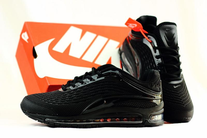 0184aa68da3d Men s Running Shoes Nike Air Max Deluxe OG 1999 Kpu Triple Black ...