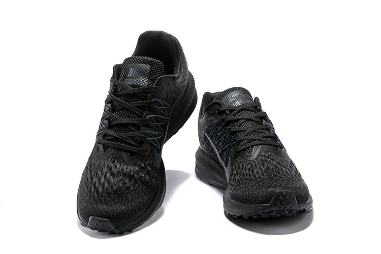0bae914ecdeea Nike Air Zoom Winflo 5 Black Anthracite AA7406 002 Men s Casual Shoes  Sneakers