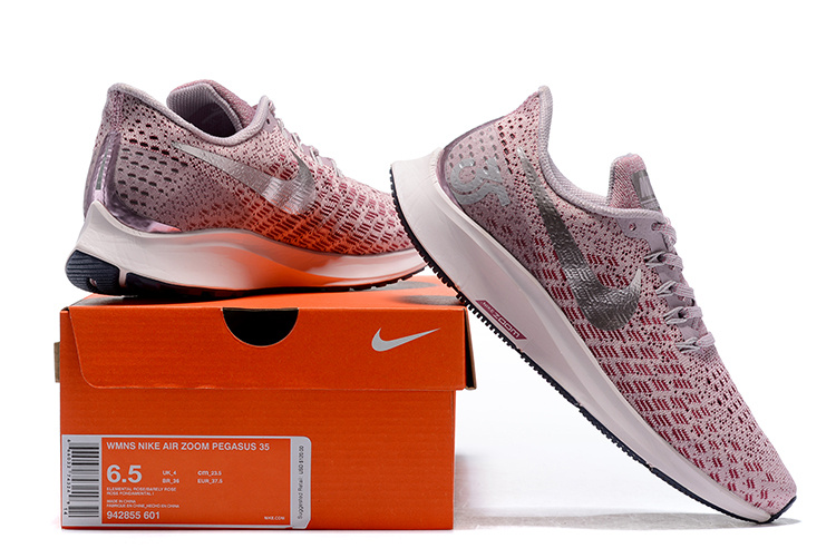 09f310921df0 Women s Casual Shoes Nike Air Zoom Pegasus 35 Elemental Rose Vintage Wine  Neutral Indigo Barely Rose