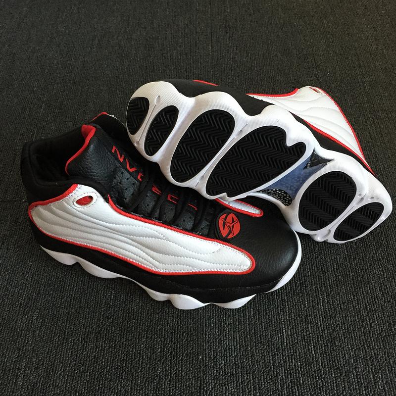 d3a9e66447e Jordan Pro Strong Retro Black Varsity Red White 407285 005 Men s ...