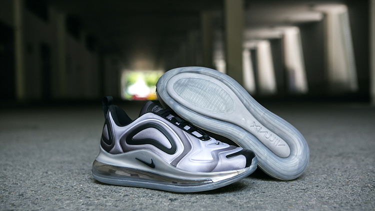 Men's NIKE Nike ST003921 Max Air 720 Grey White Casual Shoes