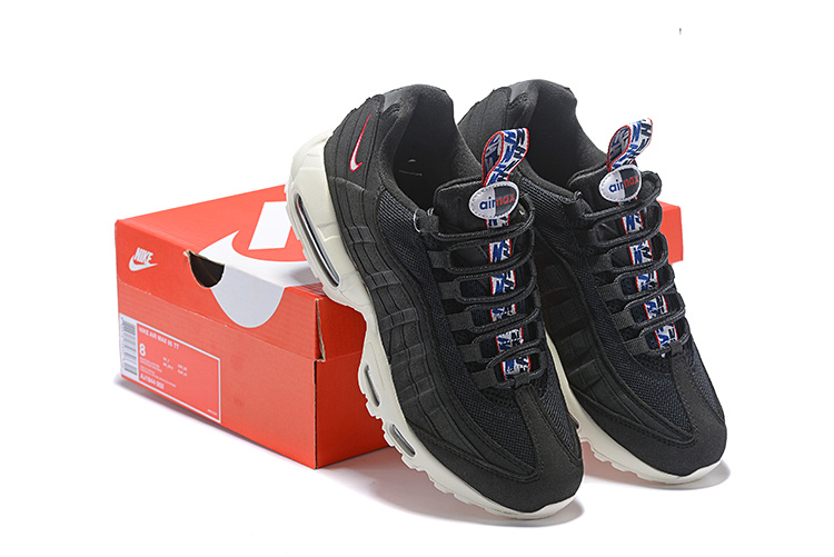 more photos a222a a5c75 Nike Air Max 95 TT Pull Tab Pack Black Sail Gym Red ...