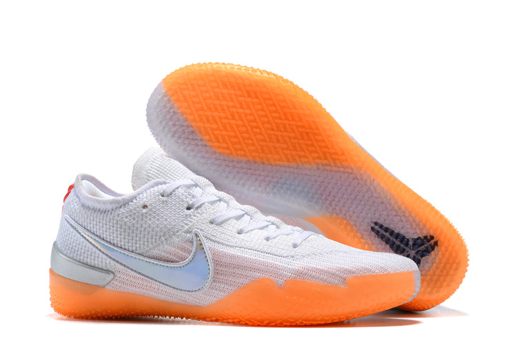 cheap for discount 635b1 9be61 Nike Kobe AD NXT 360 Mamba Day White Multi Infrared 23 AQ1087 100 Men s  Basketball Shoes