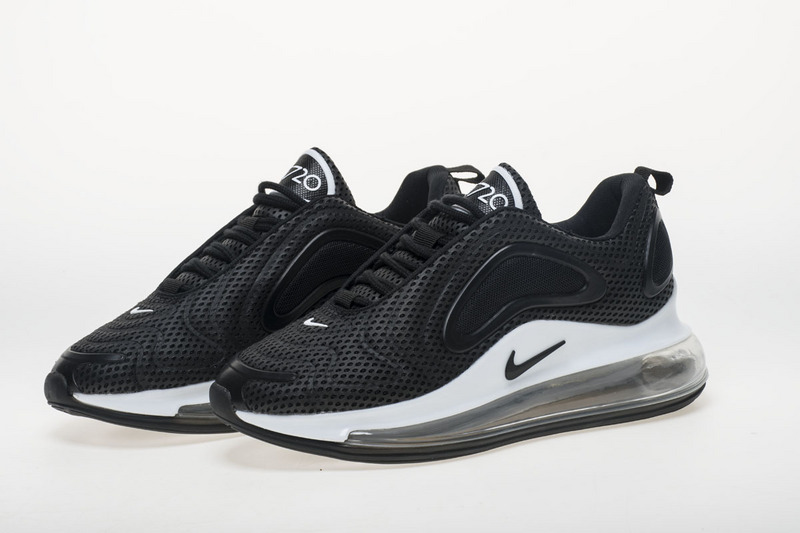 innovative design 57d29 55ad2 Nike Air Max 720 Black White AO2924 001 Women s Men s ...