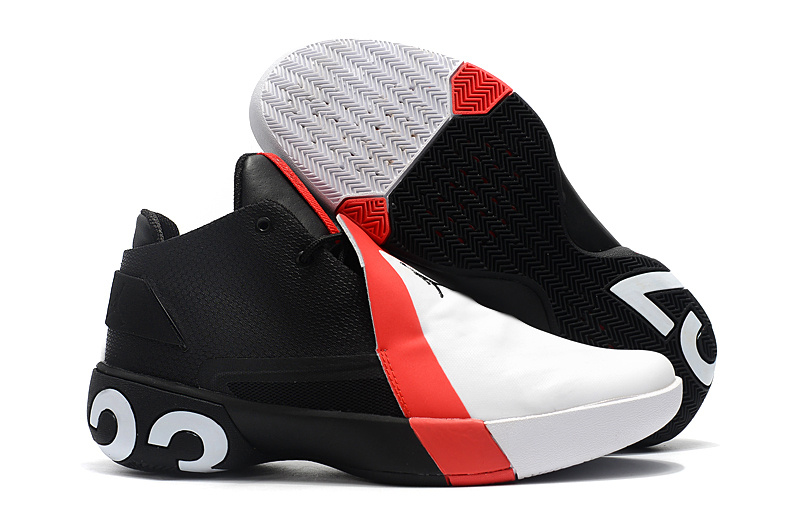 sale retailer 000fa 84953 Air Jordan Ultra Fly 3 White Red Black Men s Basketball Shoes