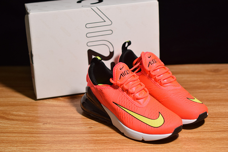 Nike Air Max 270 Fifa World Cup Russia 2018 Brilliant Red Black White Yellow AH8050 009 Men's Casual Shoes AH8050 009a