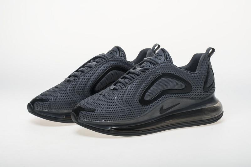 9f69501f9f125 Nike Air Max 720 Carbone Grey Black AO2924 002 Men's Casual Shoes ...