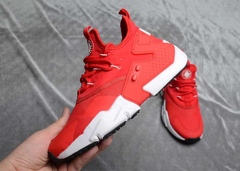 e1d873b8b0cf Nike Air Huarache Drift Premium Bright Red White Women s Men s Running Shoes