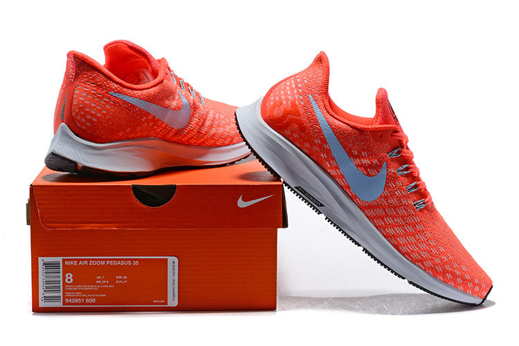 1fe60ea835c9 Men s Casual Shoes Nike Air Zoom Pegasus 35 Bright Crimson Gym Red Football  Grey Gridiron 942851