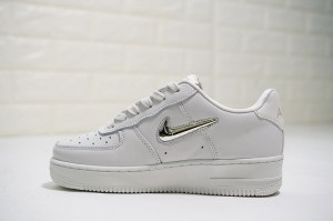 Nike WMNS Air Force 1  07 PRM LX Phantom   Metallic Gold Star AO3814- db29ee570