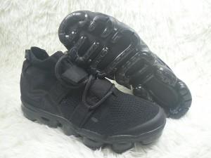 2c1e1caa65ef1 Excellent Nike Air VaporMax Utility Triple Black ah6834 001 Women s Men s  Running Shoes