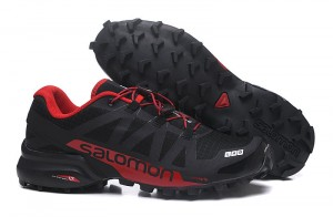 b3a957ae7126 Salomon Speedcross Pro 2 Black Barbados Cherry Black Men s Outdoor Trail  Running Shoes