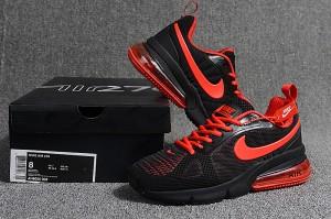 a51834b037c1 Nike Air Max Flair 270 Futura V2 KPU Black Red AH8050 006 Men s Casual Shoes