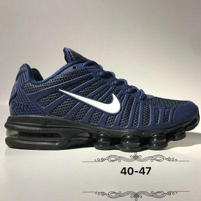 quite nice eaa08 5cc20 High Quality Nike Air Max Shox 2019 KPU Navy Blue White Men s Running Shoes
