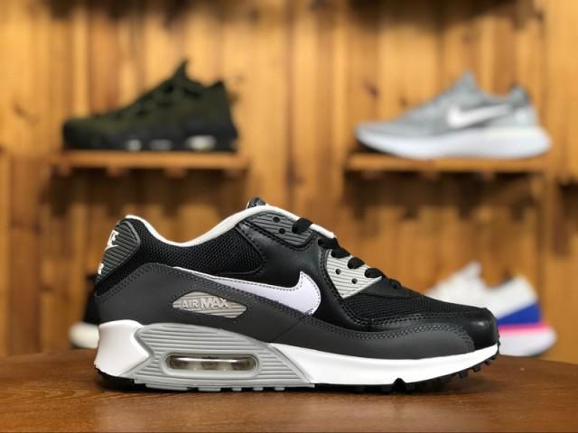wholesale dealer 82e87 6bf66 Nike Air Max 90 Essential Black White Dark Grey Wolf Grey 537384-