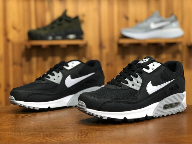 7608ee93f7 Nike Wmns Air Max 90 Essential Black/White-Wolf Grey 616730-012 Women's. Well  Done ...