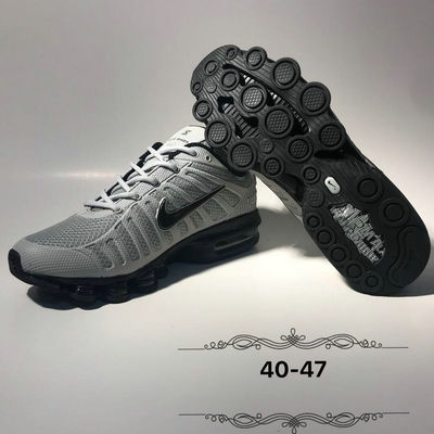 newest e233e 37b61 Dependable Nike Air Max Shox 2019 KPU Cool Grey Black Men's Running Shoes