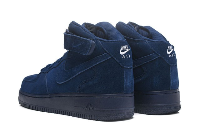 designer fashion a0c84 9566e Nike Air Force 1 Mid 07 Binary Blue 315123 410 Women's Men's Casual Shoes  Sneakers