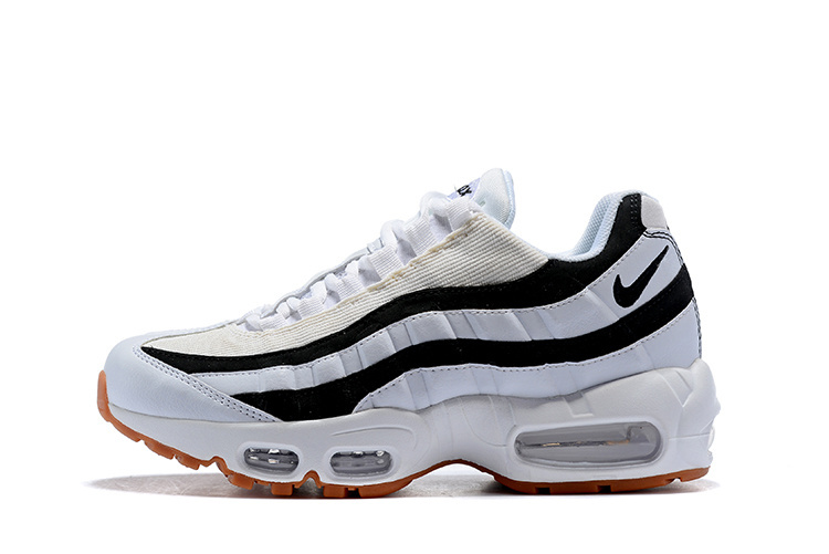 Nike Air Max 95 Juventus White Gum Light Brown Black 307960 112 Women's Men's Casual Shoes 307960 112