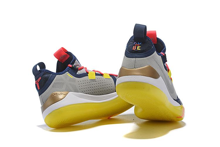 04560aec36ff Nike Kobe AD Sail Multi-Color AV3555-100 Men s Basketball Shoes ...