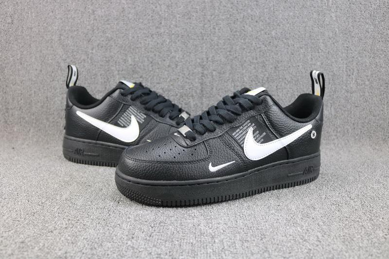classic fit b6933 174d2 Nike Air Force 1 07 LV8 Utility Pack Black White AJ7747 001 Women's Men's  Casual Shoes Sneakers AJ7747-001A