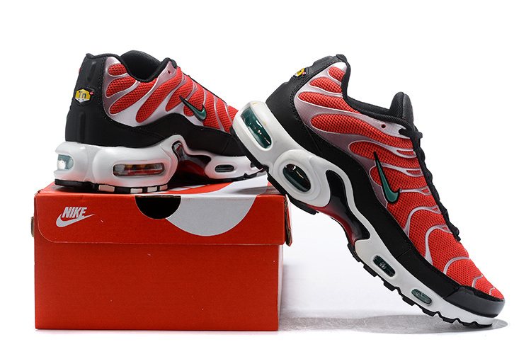 competitive price 66e0f 2fa66 Nike Air Max Plus SE Team Orange/Neptune Green/White/Black 852630-801 Men's  Running Shoes 852630-801