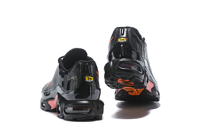 super popular 7fffe 4cfb8 Nike Air Max Plus Tn Mercurial SE BG GS Black Orange Silver Juniors AR0005  001 Men's Running Shoes AR0005-001