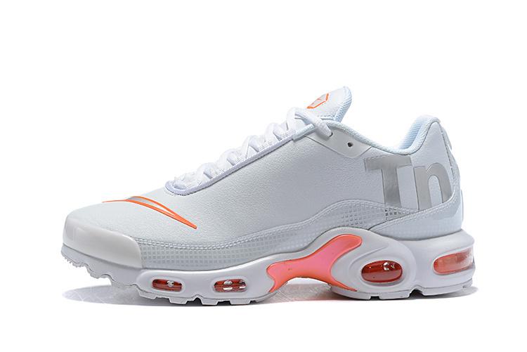 51f04ca690e Nike Air Max Plus Tn Mercurial SE BG GS White Silver Orange AR0005 100  Men s Running