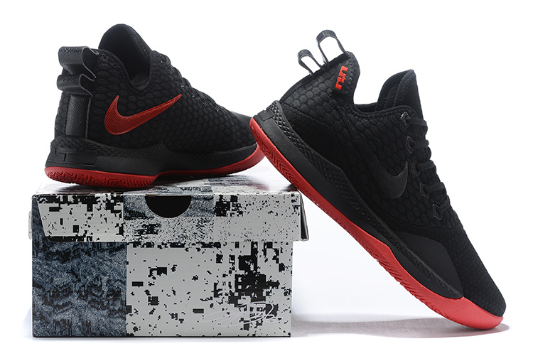 pretty nice f2dc8 c191f Nike Lebron Witness 3 Debuts in Bred Men's Basketball Shoes NIKE-ST004253