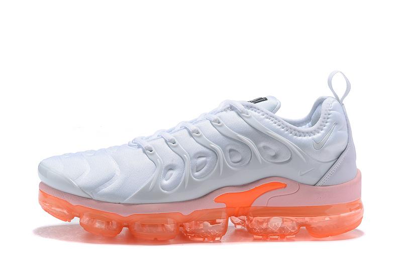 quality design bf513 cbe7f Nike Air VaporMax Plus TN White Orange Men's Women's Running Shoes  NIKE-ST004384