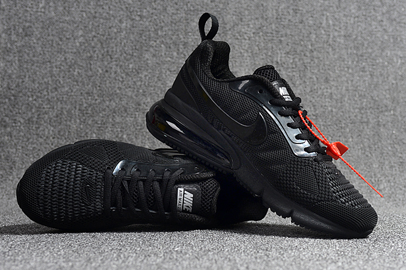 d856bd45c Nike Air Max Flair 270 Futura V2 KPU Triple Black AH8050 002 Men's Casual  Shoes