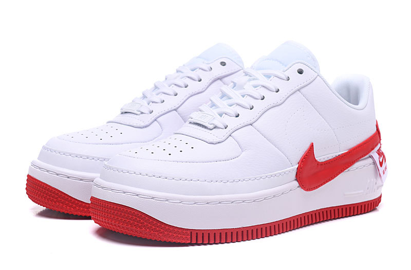 huge selection of 8f971 c8d9f Nike Air Force 1 Jester Red White AO1220 106 Women s Men s Casual Shoes  Sneakers