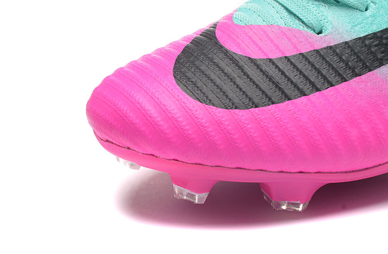 on sale 8c5c3 d7653 NIke Mercurial Superfly V FG Lime Green Pink Black Men s Soccer Cleat Shoes