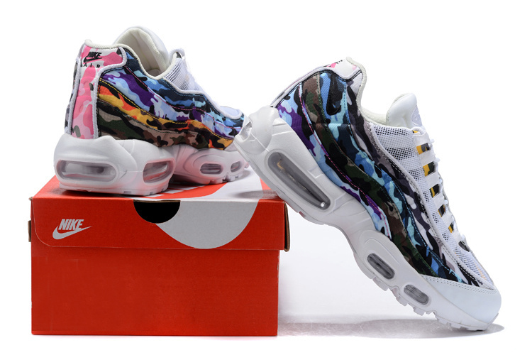 339e2875695 Nike Air Max 95 ERDL Party Goes Full Camo White Multi-Color AR4473-100  Men s Casual Shoes AR4473-100