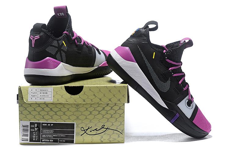 half off 07857 a8501 Nike Kobe AD EP Black Vivid Purple AV3556-002 Men's Basketball Shoes  AV3556-002