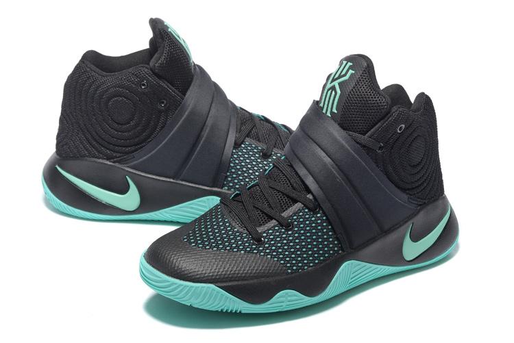 19d9c0570777 Nike Kyrie 2 Green Glow Black 820537-007 Men s Basketball Shoes ...