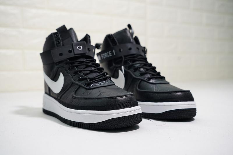 hot sale online 7b1ba 0736d Magic Stick x Nike Air Force 1 High VIP Black White AO3108-101 Men s Casual