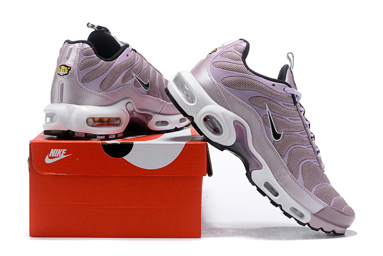 the latest 77693 77133 Nike Air Max Plus SE TN Tuned 1 Taped Pull Particle Rose Pink Black AQ4128  600 Women's Running Shoes AQ4128-600