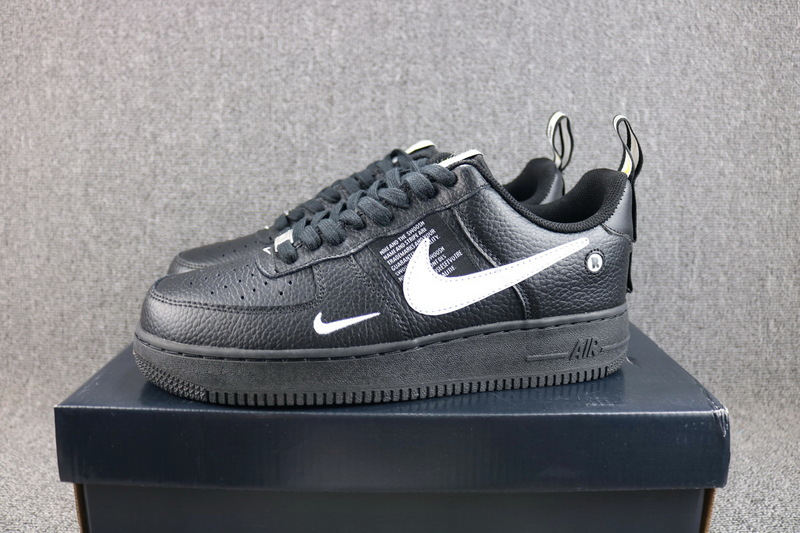 nike air force 1 '07 lv8 utility zwart
